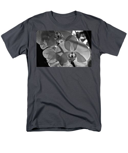 Men's T-Shirt  (Regular Fit) featuring the photograph Moth Orchid Backlit by Ron White
