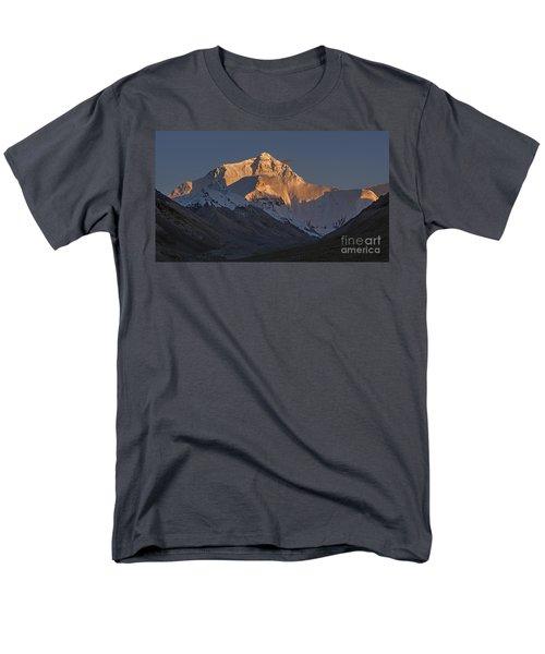 Mount Everest At Dusk Men's T-Shirt  (Regular Fit) by Hitendra SINKAR