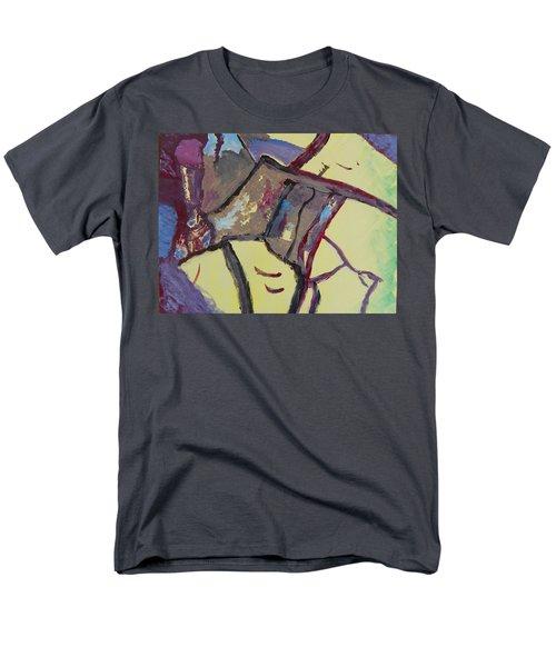 Mountain Antelope Men's T-Shirt  (Regular Fit) by Lenore Senior