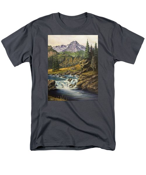 Mountain Of The Holy Cross Men's T-Shirt  (Regular Fit) by Jack Malloch
