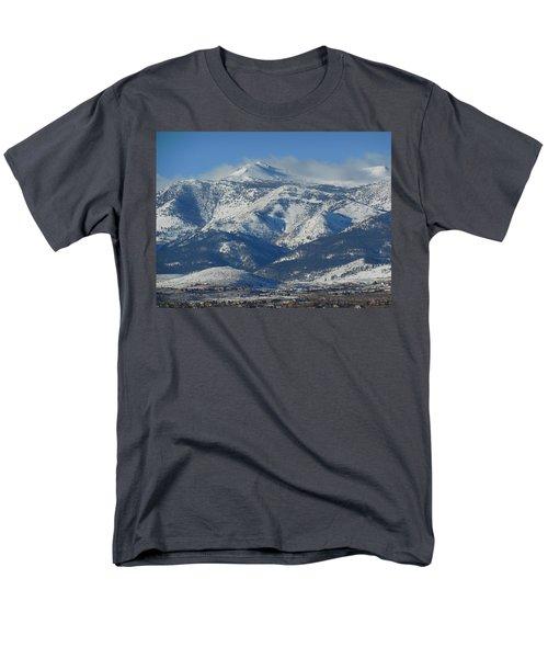 Mt Rose Reno Nevada Men's T-Shirt  (Regular Fit) by Dan Whittemore