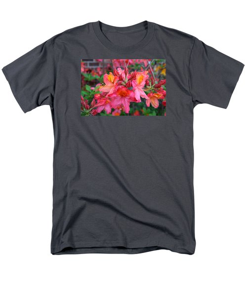 Mt St Helens Azalea Men's T-Shirt  (Regular Fit) by Kathryn Meyer