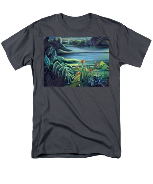 Mural Bird Of Summers To Come Men's T-Shirt  (Regular Fit) by Nancy Griswold