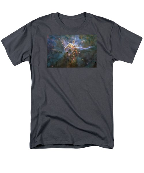 Mystic Mountain Men's T-Shirt  (Regular Fit) by Nasa