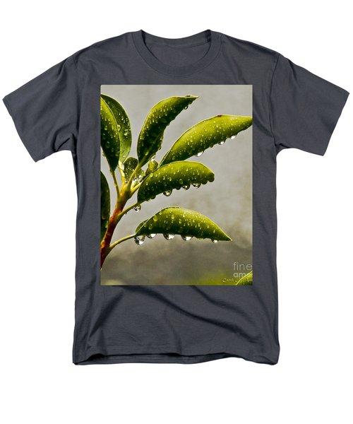 Natures Teardrops Men's T-Shirt  (Regular Fit) by Carol F Austin