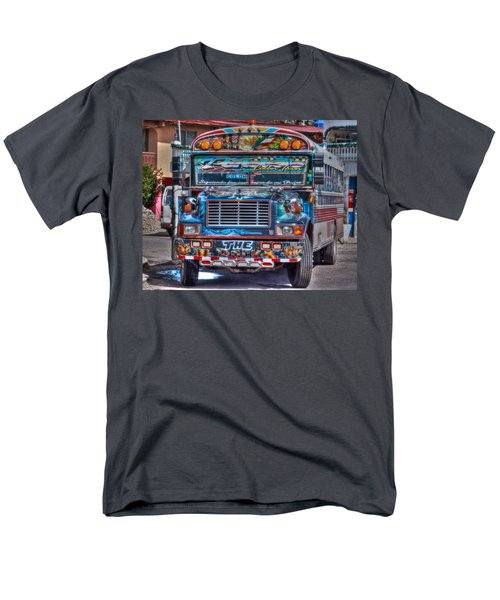 Neat Panamanian Graffiti Bus  Men's T-Shirt  (Regular Fit) by Eti Reid