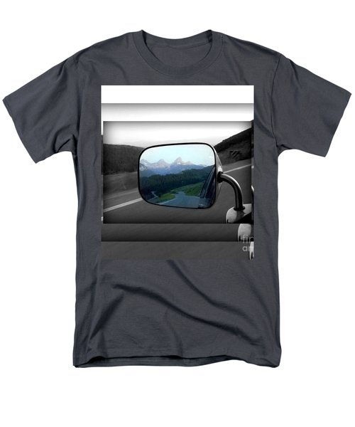 Men's T-Shirt  (Regular Fit) featuring the photograph Looking Back by Janice Westerberg