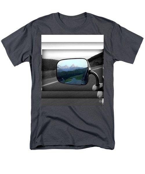 Looking Back Men's T-Shirt  (Regular Fit)