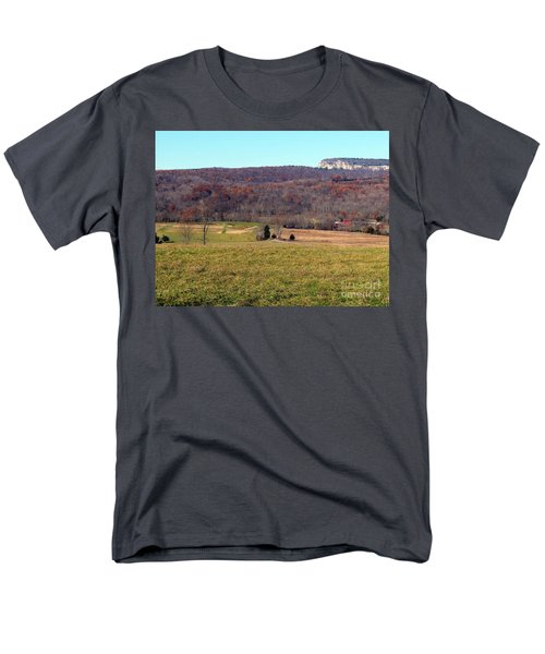 New Paltz Beauty Men's T-Shirt  (Regular Fit) by Ed Weidman