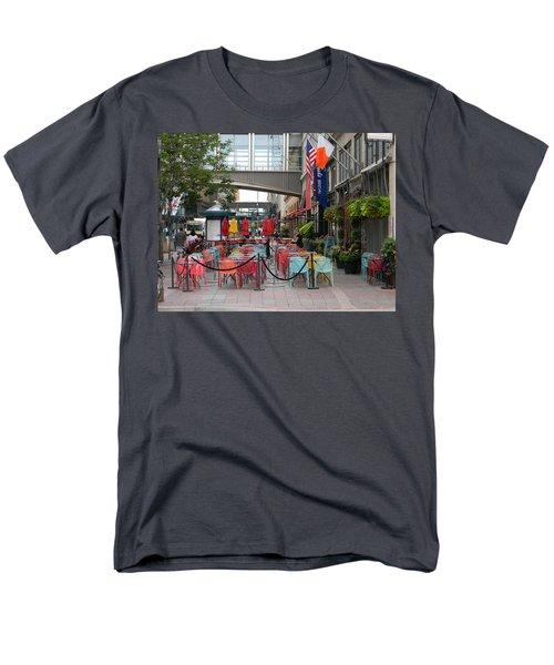 Nicollet Ave. Restaurant 1 Minneapolis Men's T-Shirt  (Regular Fit) by Mark Minier