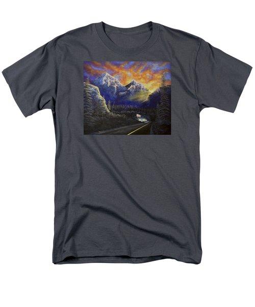 Night Life Men's T-Shirt  (Regular Fit) by Jack Malloch