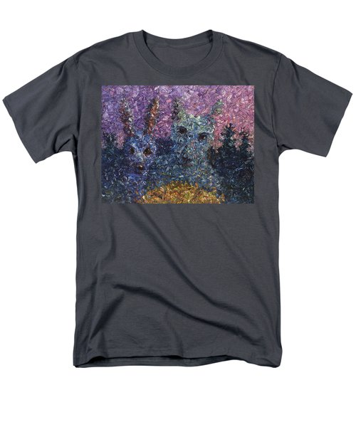 Men's T-Shirt  (Regular Fit) featuring the painting Night Offering by James W Johnson