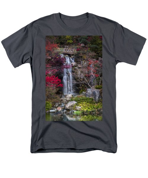 Men's T-Shirt  (Regular Fit) featuring the photograph Nishi No Taki by Sebastian Musial