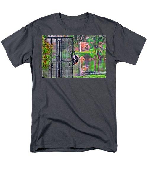 No Prison For Me  Men's T-Shirt  (Regular Fit) by Miroslava Jurcik