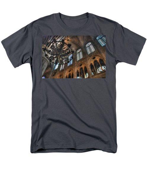 Men's T-Shirt  (Regular Fit) featuring the photograph Notre Dame Interior by Jennifer Ancker