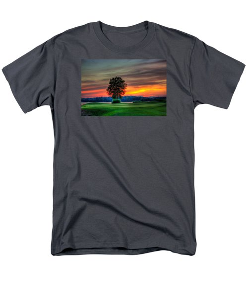Number 4 The Landing Men's T-Shirt  (Regular Fit) by Reid Callaway
