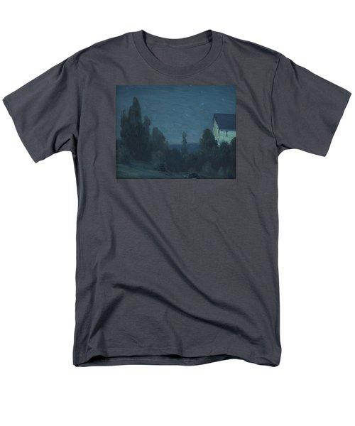 Starry Night  Men's T-Shirt  (Regular Fit) by Gustave Wiegand