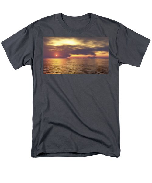 Men's T-Shirt  (Regular Fit) featuring the digital art Ocean 2 by Mark Greenberg
