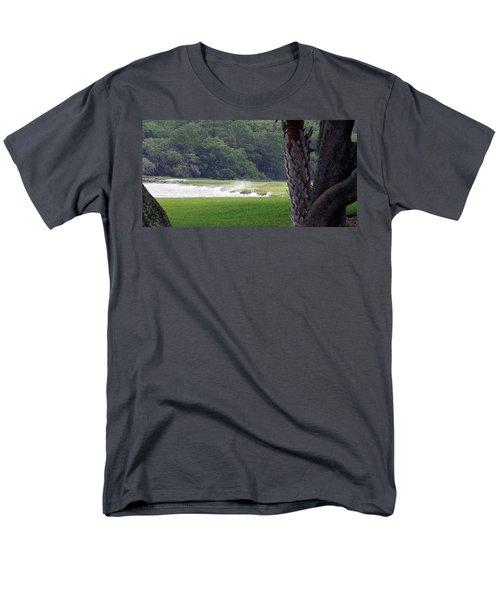 Ocean Spray At Hilton Head Island Men's T-Shirt  (Regular Fit) by Kim Pate