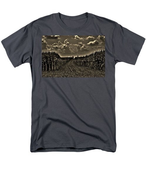 October Sky Men's T-Shirt  (Regular Fit) by Robert Geary