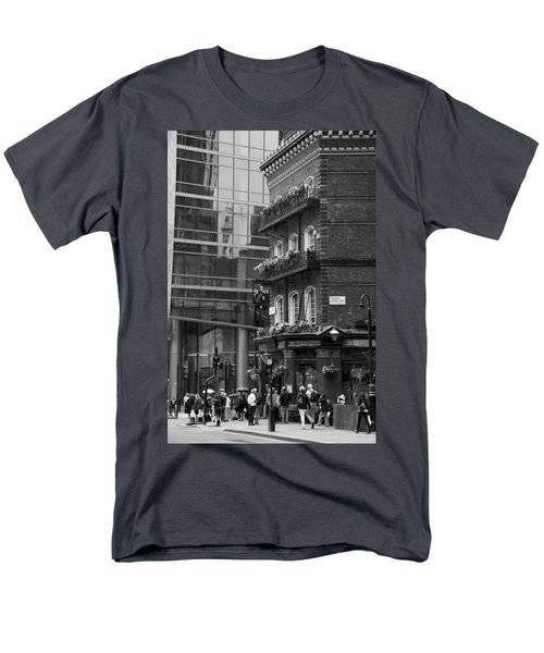 Men's T-Shirt  (Regular Fit) featuring the photograph Old And New by Chevy Fleet