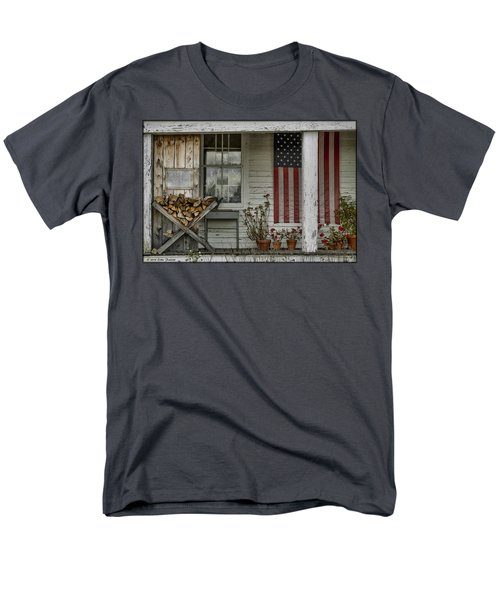 Old Apple Orchard Porch Men's T-Shirt  (Regular Fit)