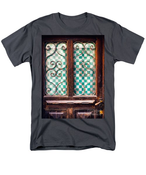 Men's T-Shirt  (Regular Fit) featuring the photograph Old Door by Silvia Ganora
