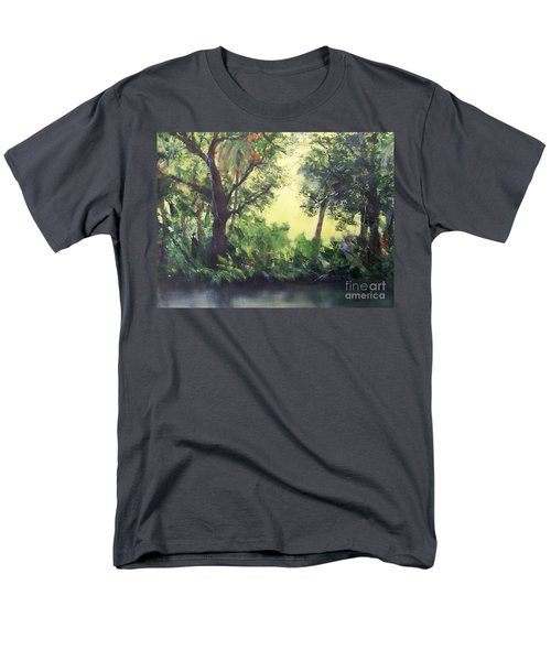 Old Florida 2 Men's T-Shirt  (Regular Fit) by Mary Lynne Powers