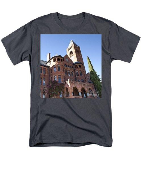 Men's T-Shirt  (Regular Fit) featuring the photograph Old Preston Castle by David Millenheft