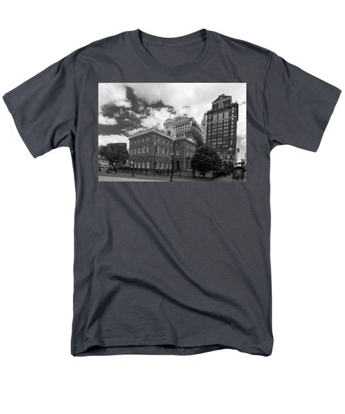 Old State House 15568b Men's T-Shirt  (Regular Fit) by Guy Whiteley