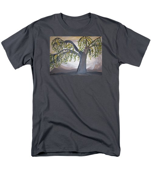 Old Willow Men's T-Shirt  (Regular Fit) by Cathy Anderson