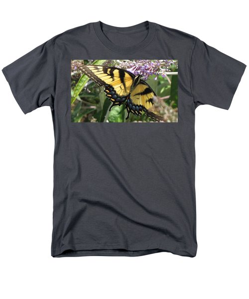 Men's T-Shirt  (Regular Fit) featuring the photograph Old World Swallowtail by Jennifer Wheatley Wolf