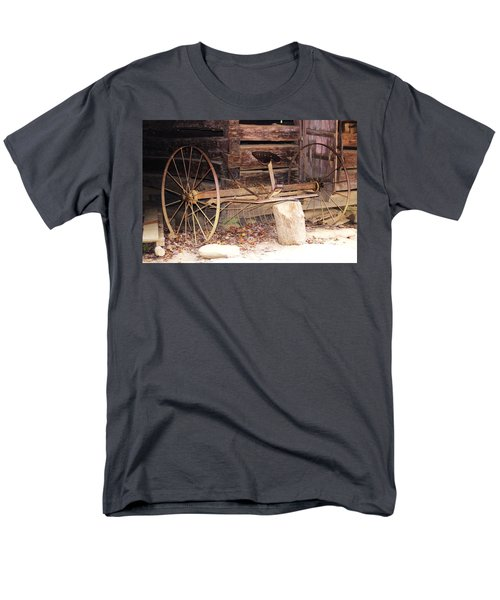 Men's T-Shirt  (Regular Fit) featuring the photograph Ole Wheely by Faith Williams