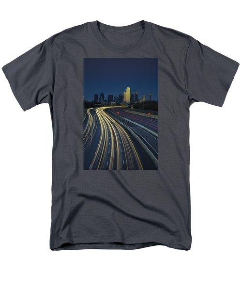 Oncoming Traffic Men's T-Shirt  (Regular Fit) by Rick Berk