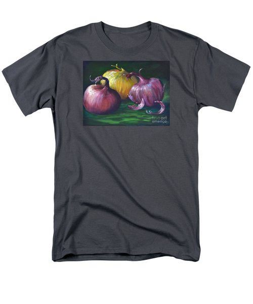 Men's T-Shirt  (Regular Fit) featuring the painting Onions by AnnaJo Vahle