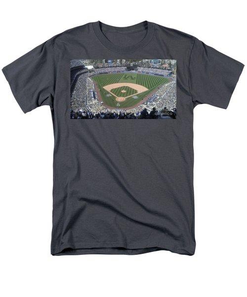 Opening Day Upper Deck Men's T-Shirt  (Regular Fit) by Chris Tarpening