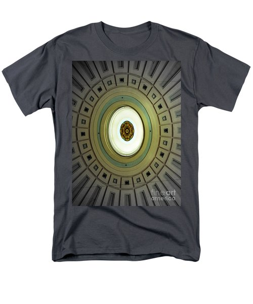 Optical Illusion  Men's T-Shirt  (Regular Fit) by Kevin Fortier