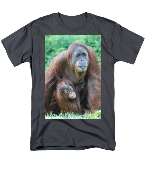 Orangutan Men's T-Shirt  (Regular Fit) by DejaVu Designs