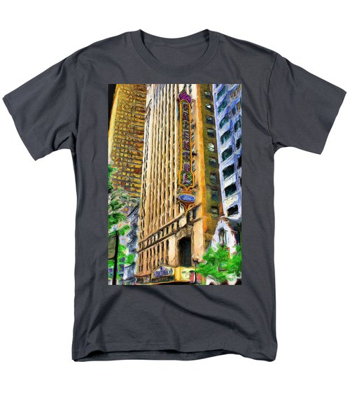 Oriental Theater Of Chicago Men's T-Shirt  (Regular Fit) by Ely Arsha