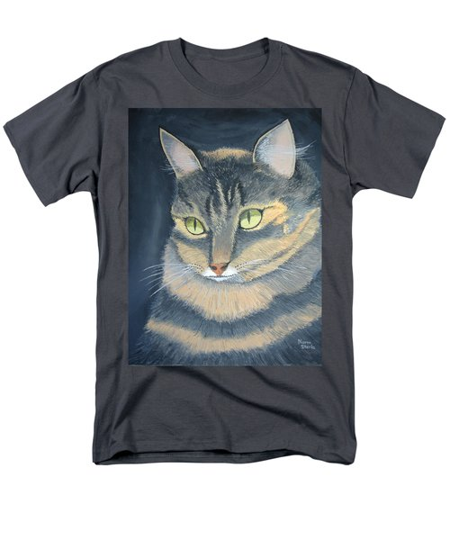 Original Cat Painting Men's T-Shirt  (Regular Fit) by Norm Starks
