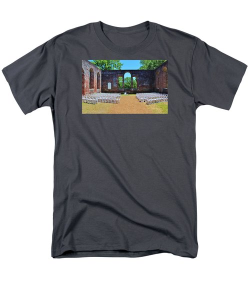Outside Wedding Men's T-Shirt  (Regular Fit)