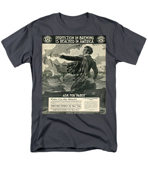 Men's T-Shirt  (Regular Fit) featuring the digital art Pabst by Cathy Anderson
