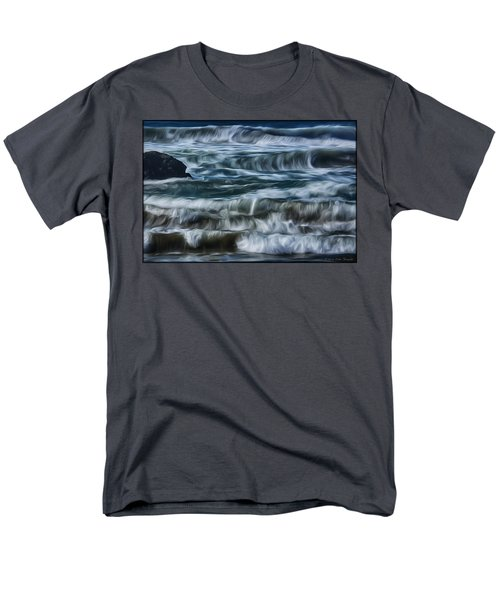 Pacific Waves Men's T-Shirt  (Regular Fit)
