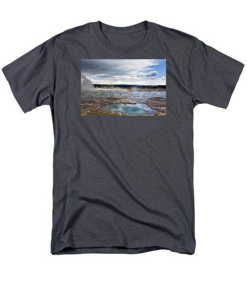 Men's T-Shirt  (Regular Fit) featuring the photograph Paint Pots by Belinda Greb