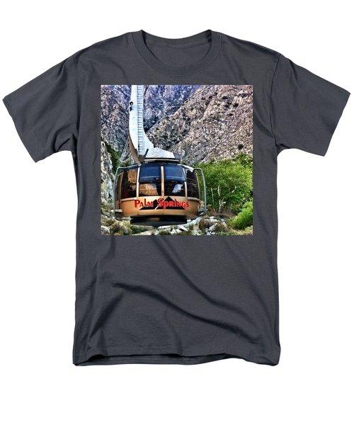Palm Springs Tram 2 Men's T-Shirt  (Regular Fit) by Susan Garren