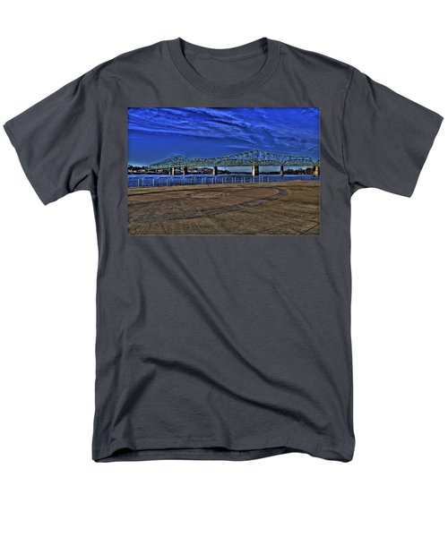 Men's T-Shirt  (Regular Fit) featuring the photograph Parkersburg Point Park by Jonny D