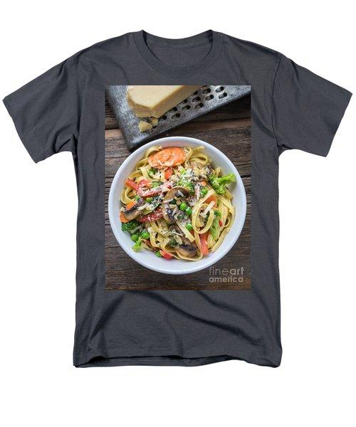 Pasta Primavera Dish Men's T-Shirt  (Regular Fit) by Edward Fielding