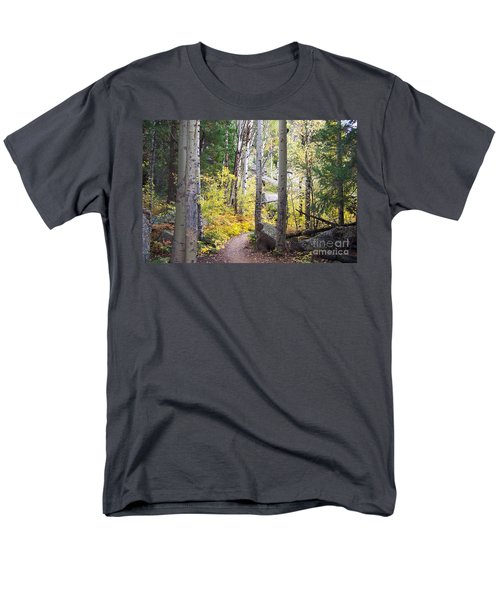 Men's T-Shirt  (Regular Fit) featuring the digital art Path Of Peace by Margie Chapman