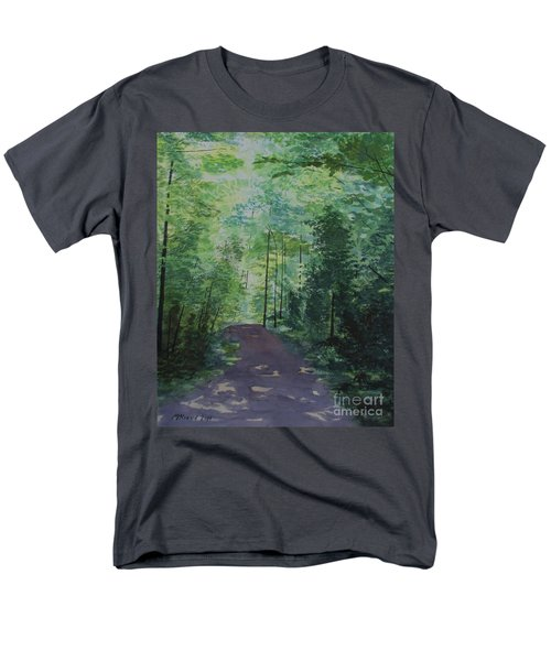 Path To The River Men's T-Shirt  (Regular Fit) by Martin Howard