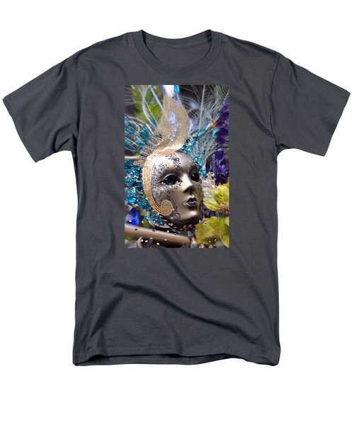 Peace In The Mask Men's T-Shirt  (Regular Fit) by Amanda Eberly-Kudamik